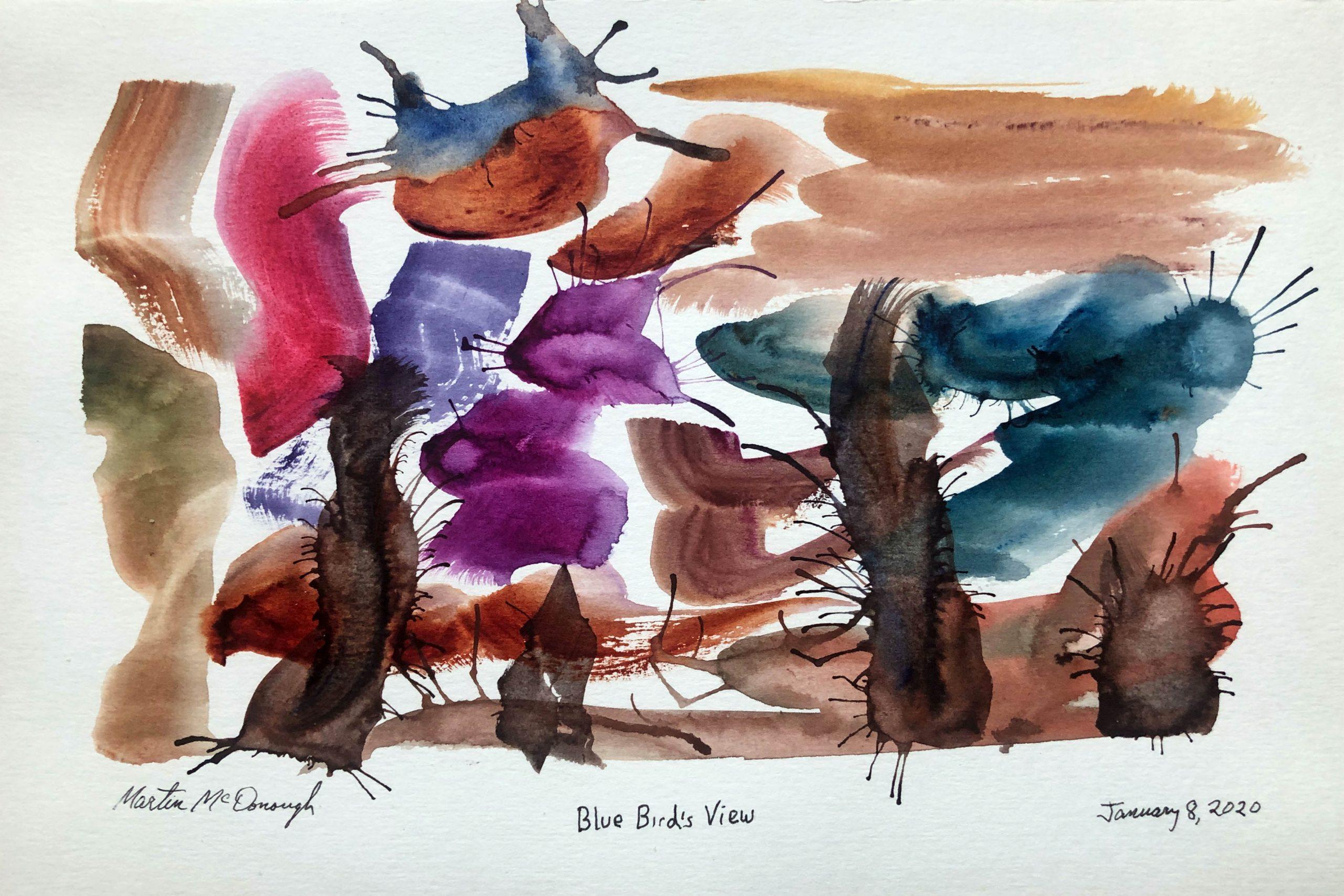 Blue Bird's View web