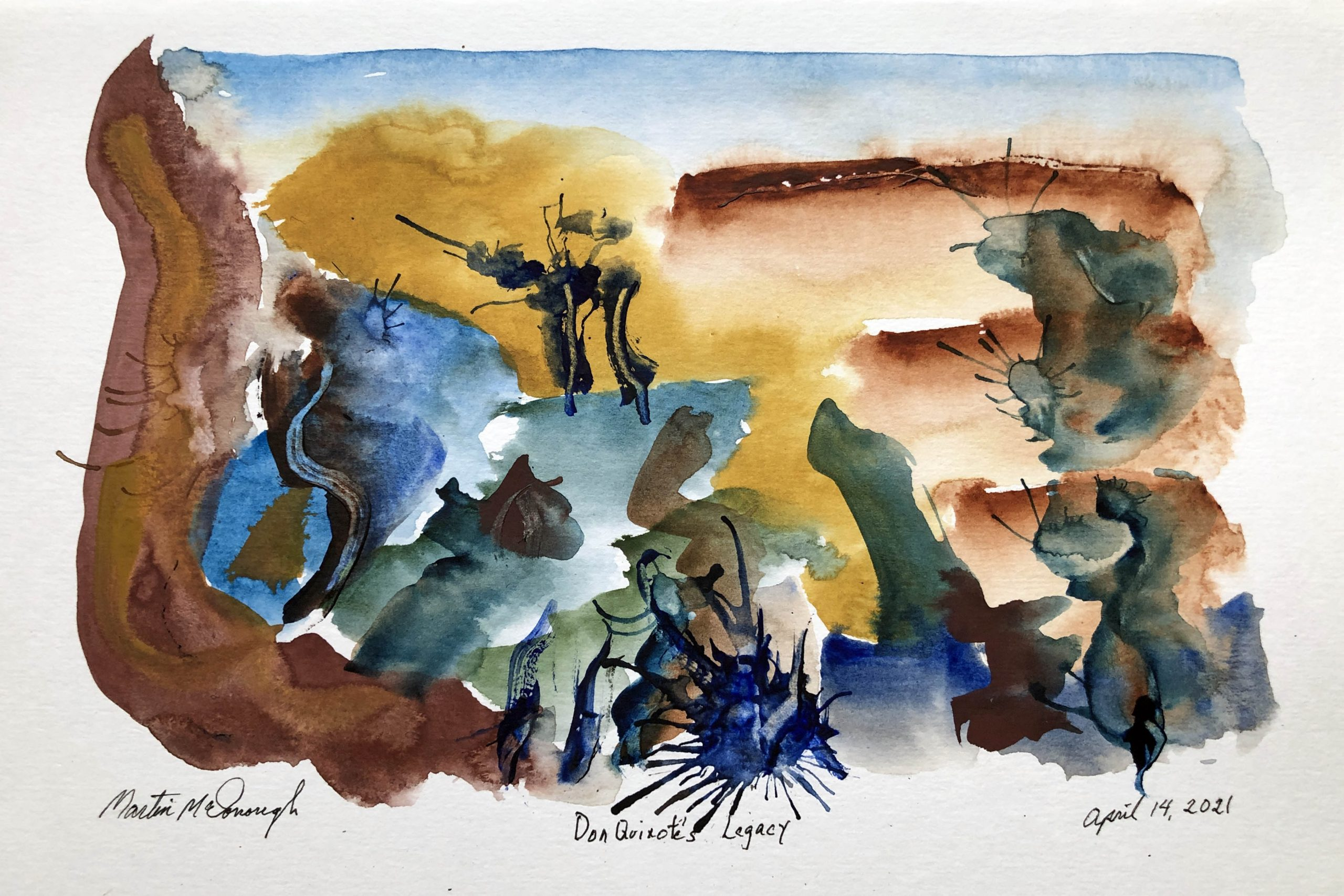 Don Quixote's Legacy web